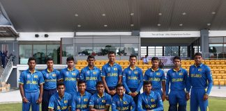 Sri Lanka U19 squad for ICC U19 Youth World Cup