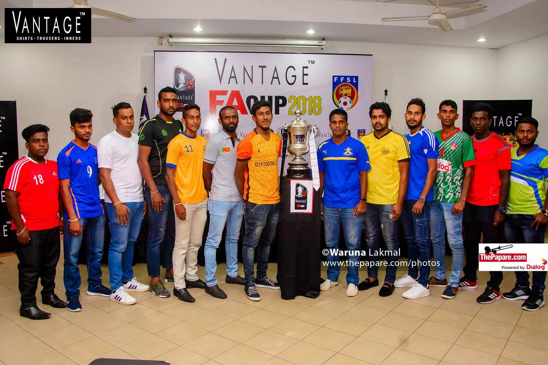 Vantage FA Cup Football 2018