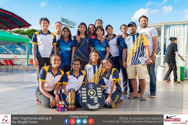 Victorious Visakha swimming team