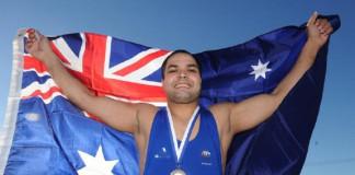 Australian wrestler Vinod Kumar