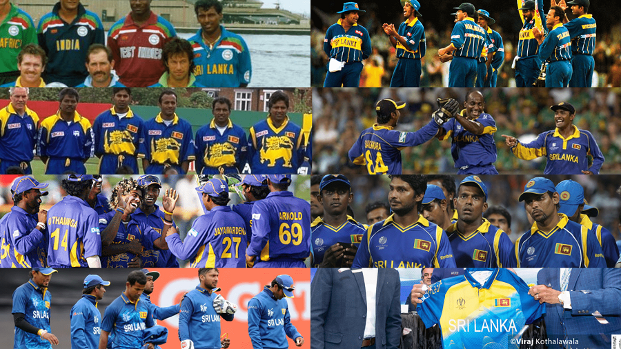 260db6f2400 The official Sri Lanka World Cup team Jersey for 2019 was unveiled  yesterday by SLC with the partnership of MAS Holdings and it has dug up  many memories ...