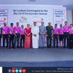 Sri Lankan Para Olympic team unveiled