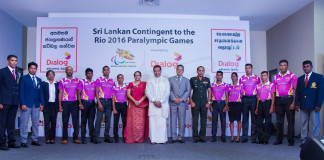 Sri Lankan Para Olympic team unveiled