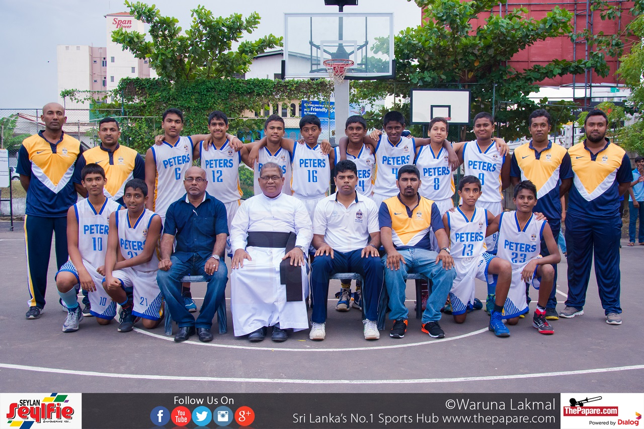 St Peter S College Champions Of The U15 Colombo South Zone