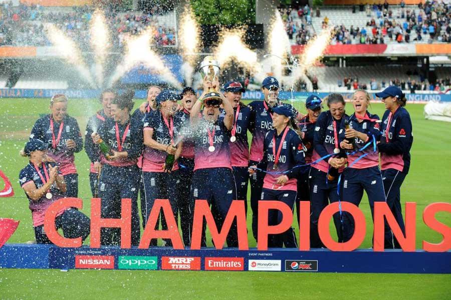 WWC17 Winner England