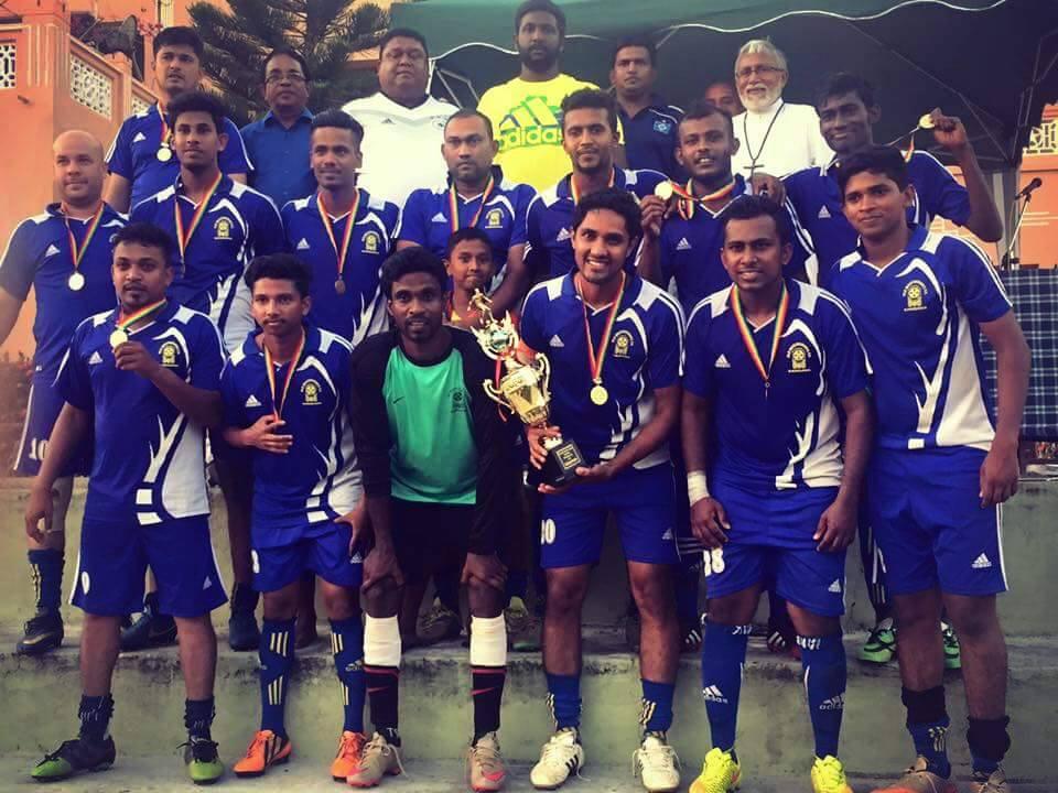 Wattala League FA Cup Champions - Old Mazenodians
