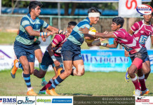 Wesley College v Science College - Schools Rugby League 2017
