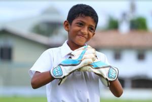 Sarujan as a Wicket-keeper