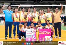 Wijaya SC - Open Women's Champions (2017 Dialog President's Gold Cup)