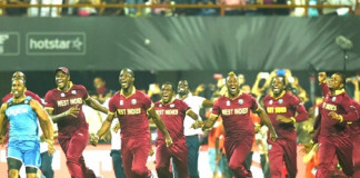 West Indies over T20 final