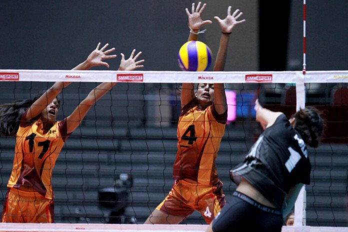 U23 womens volleyball