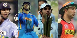 Yuvraj 1st player to win WC, T20 WC, CT, U19 WC & IPL