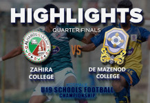 Highlights - Zahira v De Mazenod