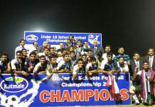 Zahira College - Kotmale Chox U19 Schools Football Champions 2016
