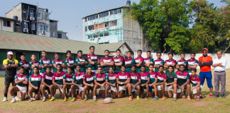 Zahira College Rugby Team 2017
