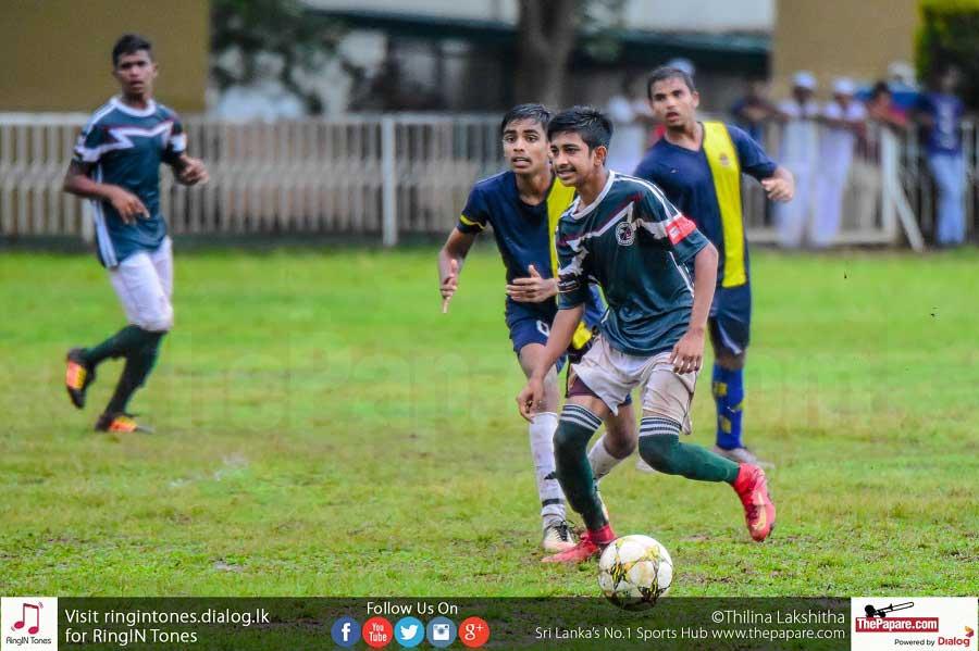 Zahira College vs St.Peter's College - Schools Football