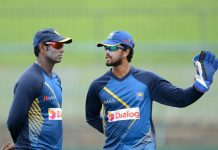 Dinesh Chandimal, Angelo Mathews