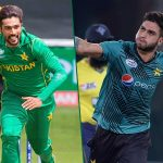Muhammad Amir replaced by Usman Khan