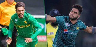 Muhammad Amir replaced by Usman Khan