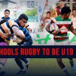 Schools Rugby U19 Format