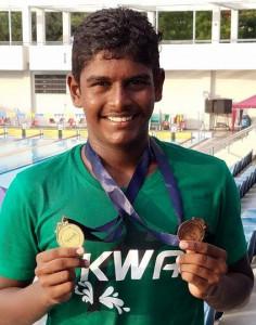 FArukshan at the Under 19 Championship - Photo by KWA