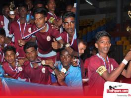 Interschool Provincial Football Tournament Jaffna