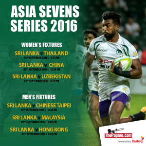 Asian Rugby Sevens Series Fixtures