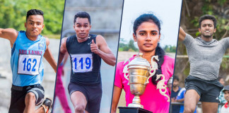 7 Sri Lankans athletics