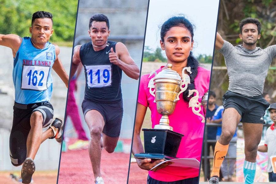 7 Sri Lankans athletics