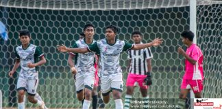 Zahira College v Kinniya Central College – 3rd Place – U18 Division I Schools' Football Championship 2018