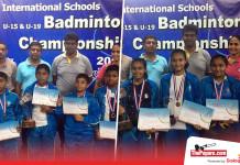 Lyceum Wattala Badminton Champions once again