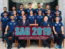 Sri Lanka Badminton Team for South Asian Games 2019 Preview