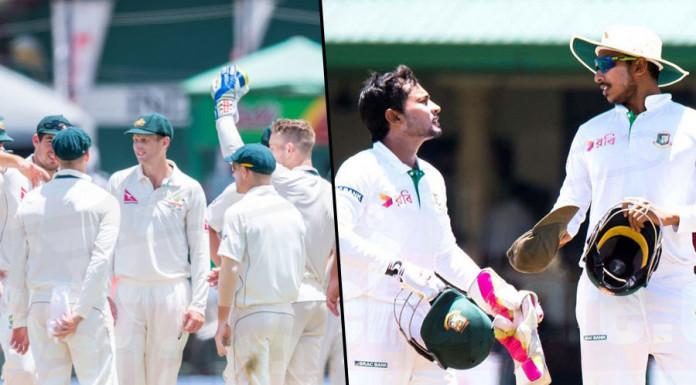 Australia tour to bangladesh