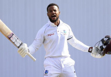 Kraigg Brathwaite and Shai Hope slammed centuries as West Indies took a lead of 71 runs @Hindustan Times