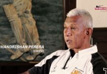 chandrishan Perera passed away