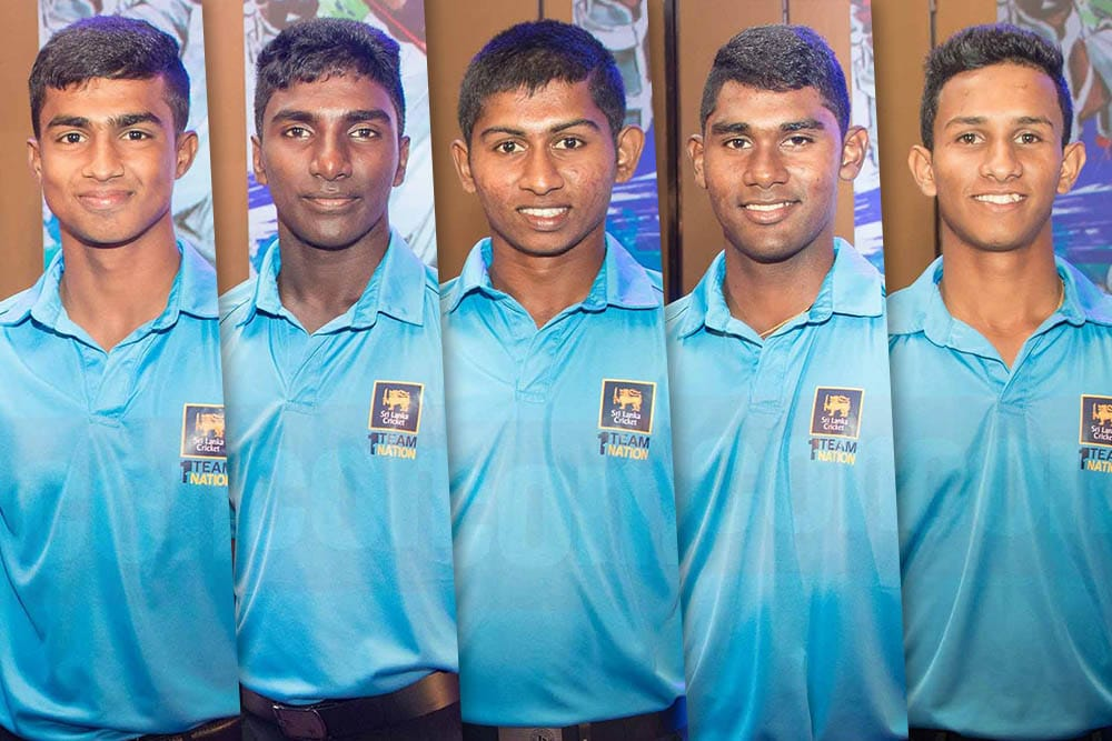 Sri Lanka U19 squad announced for Youth Asia Cup 2017