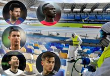 Corona virus and International Football