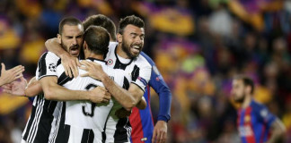 Massimiliano Allegri's side pressed Barca in their own half and limited the supply to the front
