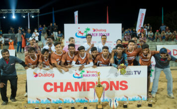Dialog Beach Soccer 2021 - Hambanthota