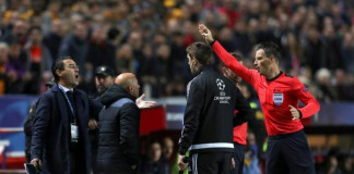 Sevilla coach Sampaoli agreed with his own sending-off