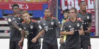 Bayern edge past Hamburg with late Kimmich goal