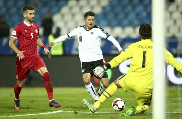 Serbia v Austria - 2018 World Cup Qualifying European Zone - Group D