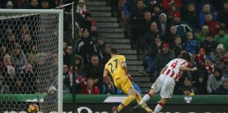 Allen on the mark again as Stoke see off Palace