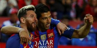 Football Soccer - Spanish La Liga Santander - Sevilla v Barcelona