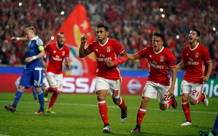 Salvio penalty hands Benfica victory over Kiev