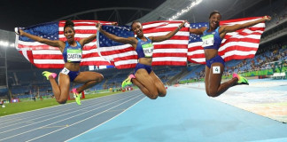 Athletics - Women's 100m Hurdles Final
