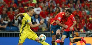 Euro 2020 Qualifier - Group F - Spain v Sweden