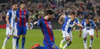 Football Soccer - Barcelona v Leganes - Spanish La Liga Santander