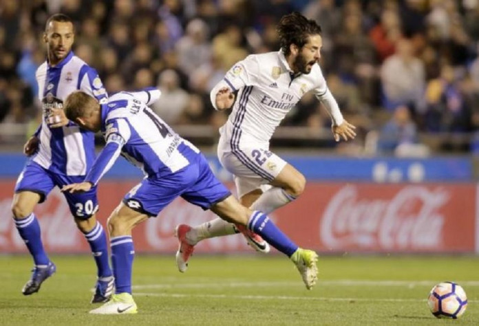 Football Soccer- Spanish La Liga Santander - Deportivo v Real Madrid