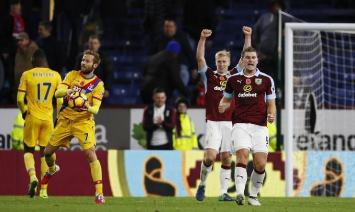 Burnley sink Palace with last-minute winner